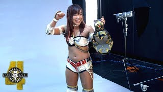 Kairi Sane is elated by her NXT Women's Title photo shoot: WWE Exclusive, Aug. 18, 2018 width=