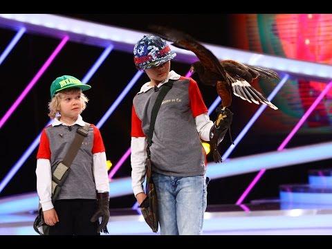 Robert și Philip Vasilescu, demonstrație de șoimărit la Next Star