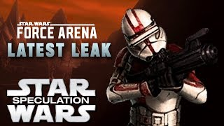 Clone Rifleman Leaked! (Star Wars: Force Arena) | Star Wars Speculation
