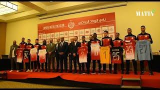 Wydad de Casablanca : Saïd Naciri présente son nouvel entraîneur et les onze recrues du mercato