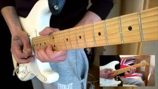 "Pink Floyd ""Another Brick In The Wall"" Guitar Cover (HD)"