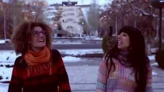 Alin & Talin | Ձյունը իր երգն է երգում - SNOW (Video Oficial, en Armenia)