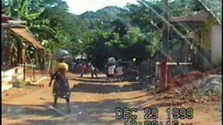 Driving into the Town of Pestel, Haiti