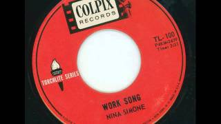 NINA SIMONE - Work song - COLPIX