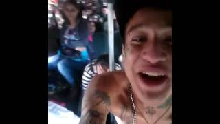 Mk Paper$ y Ruben el Profe haciendo desastres en un autobús