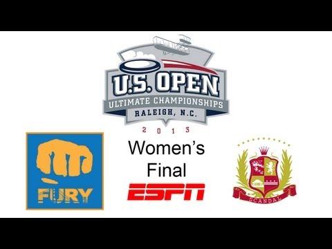 Video Thumbnail: 2013 U.S. Open Club Championships, Women's Final: San Francisco Fury vs. Washington D.C. Scandal