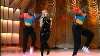 Kylie Minogue - Step Back In Time Live (Dimanche Martin 1990)