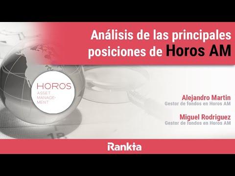 En el webinar los gestores de Horos AM comentarán las posiciones que tienen en cartera y analizarán varias de las empresas en cartera, así como los resultados obtenidos en este primer semestre.