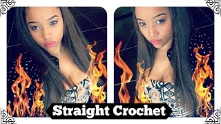 Straight Crochet Braids: Kanekalon Hair {Onya Russell}
