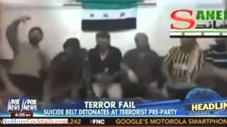 Terrorist Fail: Suicide Belt Detonates Prematurely