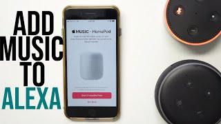 How To Setup Apple Music Service On Amazon Alexa