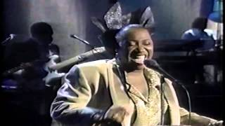 Patti LaBelle- There's a Winner in You Live on The Late Show 1987