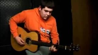 Michael Collings - Singing Hallelujah (Backstage)