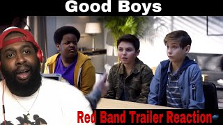 Good Boys Red Band Trailer Reaction
