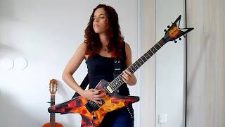 Lamb of God - Hourglass Guitar Cover (by Noelle dos Anjos)