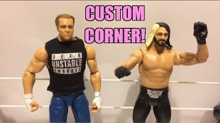 How to MAKE custom SETH ROLLINS and DEAN AMBROSE Mattel WWE Wrestling Figures
