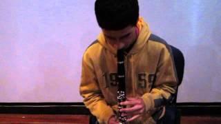 Estudio Clarinete Dabriany Muñoz Yarumal