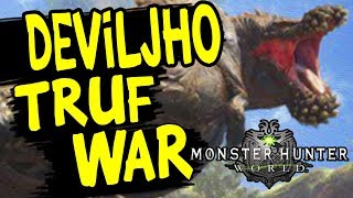 Monster Hunter: World - New Turf War DEVILJHO Vs BAZELGEUSE / MHW All Turf Wars