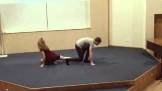 Įrodyk, kad moki šokti- Ketvirtfinalis Jonis ir Saulyte