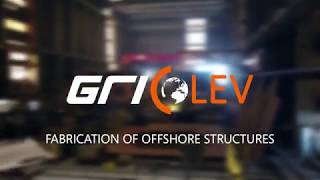 Gridin's Group–Levator - fabrication of steel structures (Beatrice OWF)