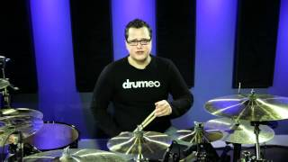 Free Live Drum Lesson - Moving Around the Drums