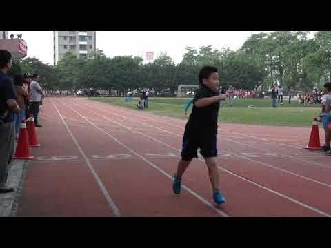 蟠桃國小第19屆校慶運動會四年丁班個人100公尺賽跑 - YouTube