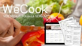 WeCook : idées de repas et de courses pour la semaine