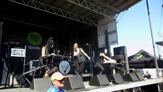 Five Knives- All Fall Down Live at Vans Warped Tour Pomona 6-21-2013