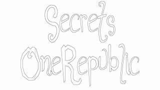 Secrets ~ OneRepublic ~ On-Screen Lyrics ~ (HQ & HD)