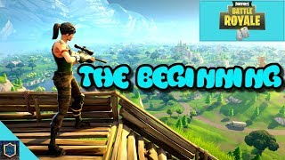 1st MATCH WITH THE SQUAD   Fortnite Battle Royale   Gameplay W/ JAR