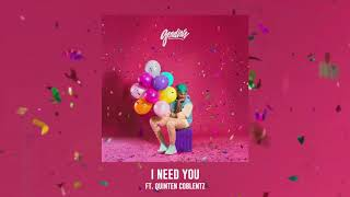 Deraj - I Need You ft. Quinten Coblentz - (Official Audio)