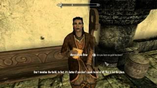 Elders Scroll V : Skyrim Maven Black-Briar At Thalmor Embassy party