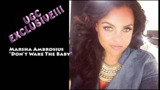 UGC EXCLUSIVE!!!! Marsha Ambrosius - Don't wake the baby