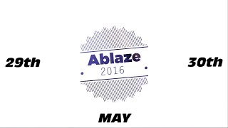 Ablaze 2016