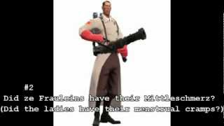 My Team Fortress 2 Top 20 favorite medic quotes