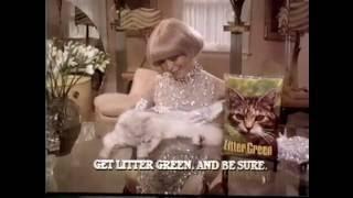 Carol Channing, Litter Green cat commercial, 1980 TV