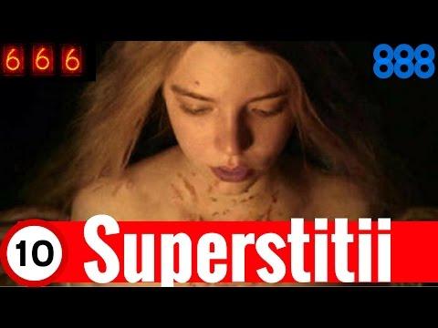 Superstitii Ciudate