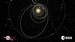 Rosetta's twelve-year journey in space