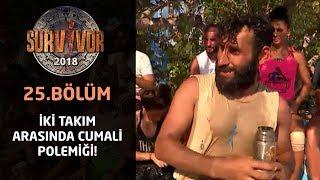 İki takım arasında Cumali polemiği! | 25. Bölüm | Survivor 2018
