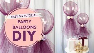 How To: Party Balloons Tutorial   DIY Event Decor   BalsaCircle.com