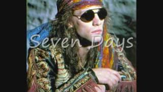 Bon Jovi - Live & rare unreleased Bob Dylan cover, 'Seven Days' (audio & lyrics)