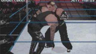 SmackDown vs RAW 2010 NDS Gameplay
