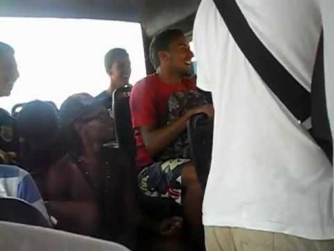 Noisy bus in Morocco