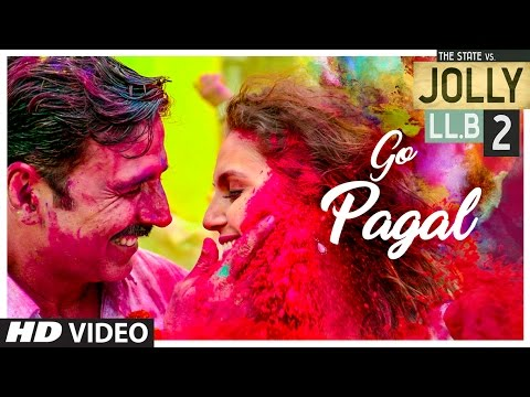 GO PAGAL LYRICS - Jolly LLB 2 | Raftaar, Nindy Kaur