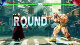 Street Fighter V - BaZooKa (Dictator) vs. Quadraxis14 (Zangief)
