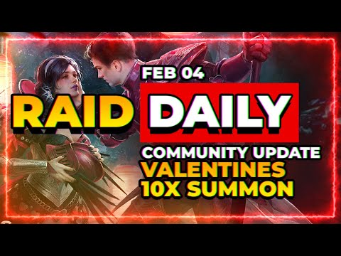VALENTINE 10x! | Armory is on the way! | RAID Shadow Legends