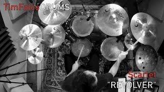 """Tim Falco - Scarlet """"Revolver"""" - Drum Cover"""