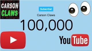 100,000 Subscribers...