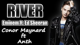 River -  Eminem ft. Ed Sheeran l Conor Maynard ft Anth -Cover (LYRICS)