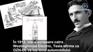 Dosarele OZN. A construit Nikola Tesla o farfurie zburătoare?